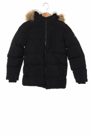 Детско яке Soulcal & Co, Размер 6-7y/ 122-128 см, Цвят Черен, Полиестер, Цена 57,85лв.