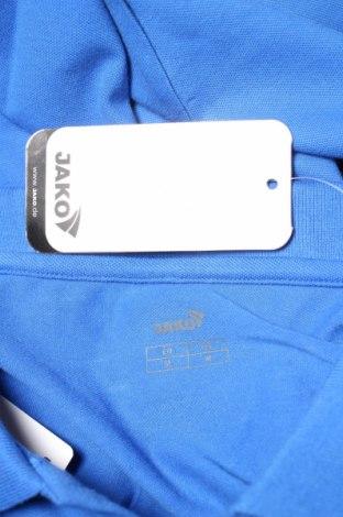 Мъжка блуза Jako, Размер M, Цвят Син, 95% памук, 5% еластан, Цена 14,70лв.