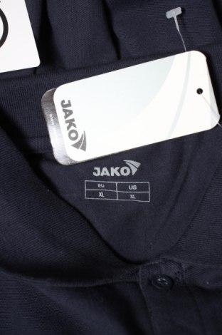 Мъжка блуза Jako, Размер XL, Цвят Син, 95% памук, 5% еластан, Цена 12,25лв.