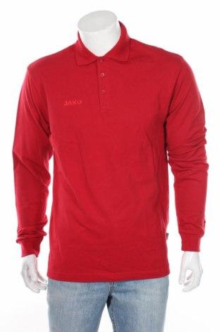Мъжка блуза Jako, Размер M, Цвят Червен, 95% памук, 5% еластан, Цена 14,70лв.