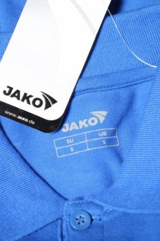 Мъжка блуза Jako, Размер S, Цвят Син, 95% памук, 5% еластан, Цена 17,15лв.