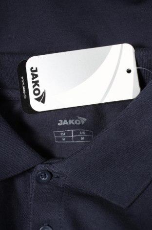 Мъжка блуза Jako, Размер M, Цвят Син, 95% памук, 5% еластан, Цена 12,25лв.