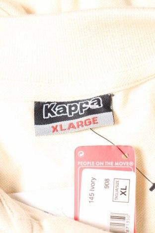 Мъжка блуза Kappa, Размер XL, Цвят Бежов, Памук, Цена 14,10лв.