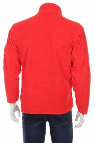 Мъжка поларена блуза Fruit Of The Loom, Размер S, Цвят Червен, Полиестер, Цена 10,20лв.