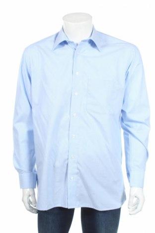 Мъжка риза Royal Class, Размер M, Цвят Син, Памук, Цена 4,50лв.