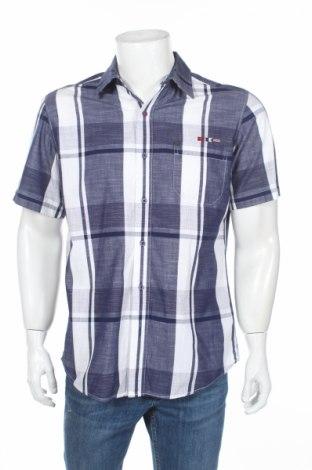 Мъжка риза Tbs, Размер L, Цвят Бял, Памук, Цена 16,96лв.