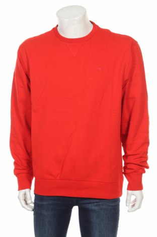 Мъжка спортна блуза Diadora, Размер XL, Цвят Червен, 80% памук, 20% полиестер, Цена 18,20лв.