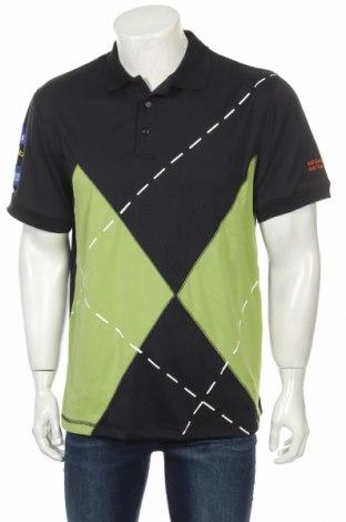 Мъжка тениска Abacus, Размер XL, Цвят Черен, Полиестер, Цена 77,49лв.