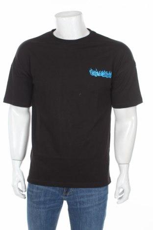 Мъжка тениска Boohoo, Размер S, Цвят Черен, Памук, Цена 21,76лв.