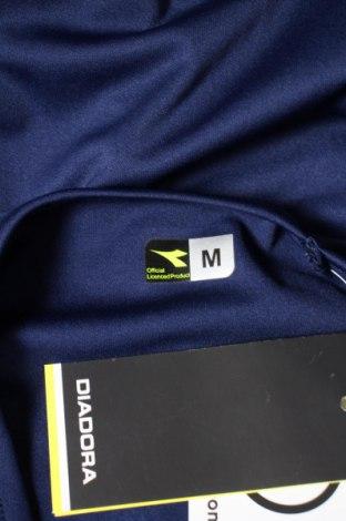 Мъжка тениска Diadora, Размер M, Цвят Син, Полиестер, Цена 11,70лв.