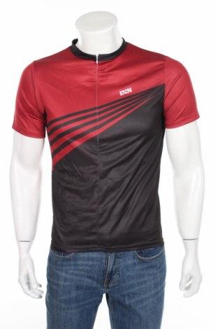 Мъжка тениска IXS, Размер S, Цвят Червен, 58% полиестер, 42% бамбук, Цена 18,20лв.