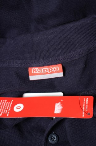 Мъжка тениска Kappa, Размер S, Цвят Син, 100% памук, Цена 11,90лв.