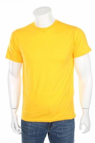 Мъжка тениска Russell, Размер S, Цвят Оранжев, Памук, Цена 10,80лв.