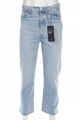 Męskie jeansy Levi's, Rozmiar S, Kolor Niebieski, 99% bawełna, 1% elastyna, Cena 119,25zł