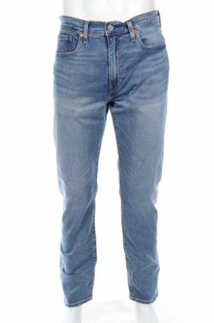 Мъжки дънки Levi's, Размер L, Цвят Син, 99% памук, 1% еластан, Цена 98,02лв.