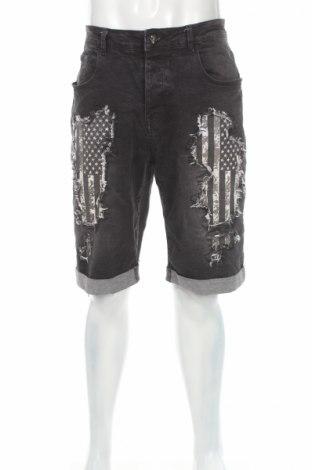 Blugi de bărbați Rock Rebel, Mărime XL, Culoare Negru, 98% bumbac, 2% elastan, Preț 59,19 Lei