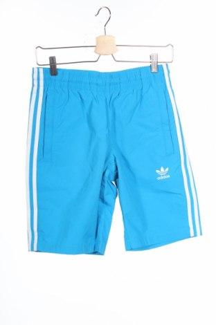 Мъжки къс панталон Adidas Originals, Размер S, Цвят Син, Полиамид, Цена 51,75лв.