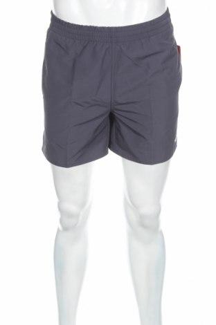 Мъжки къс панталон Speedo, Размер XS, Цвят Сив, 100% полиестер, Цена 19,60лв.