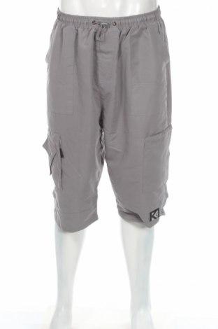 Ανδρικό κοντό παντελόνι, Μέγεθος XL, Χρώμα Γκρί, Πολυεστέρας, Τιμή 3,56€