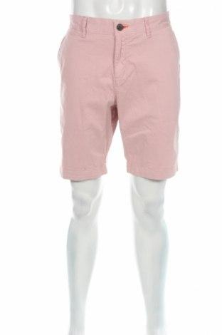 Pantaloni scurți de bărbați Superdry, Mărime L, Culoare Roz, 98% bumbac, 2% elastan, Preț 93,55 Lei