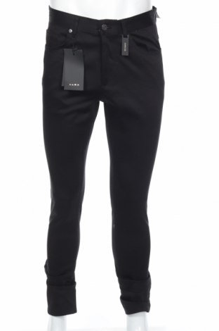 Ανδρικό παντελόνι Zara, Μέγεθος M, Χρώμα Μαύρο, 98% βαμβάκι, 2% ελαστάνη, Τιμή 16,12€