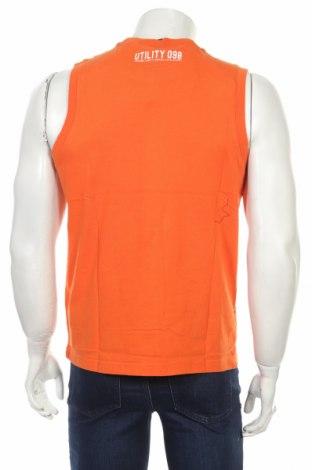 Мъжки потник Diadora, Размер M, Цвят Оранжев, Памук, Цена 11,40лв.