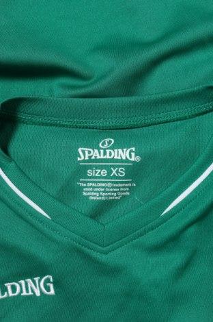 Мъжки потник Spalding, Размер XS, Цвят Зелен, Полиестер, Цена 9,60лв.