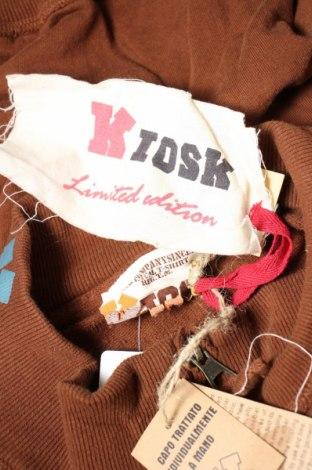Мъжко спортно горнище Kiosk, Размер M, Цвят Кафяв, Памук, Цена 14,40лв.