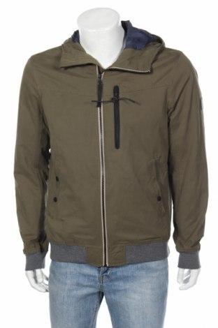 Pánska bunda  Tom Tailor, Veľkosť L, Farba Zelená, 46% polyester, 43% bavlna, 11% polyamide, Cena  38,64€