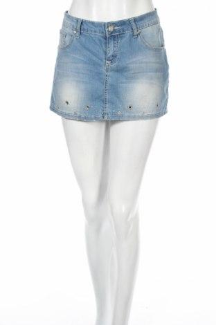 Пола Alicia Jeans, Размер M, Цвят Син, 98% памук, 2% еластан, Цена 4,25лв.