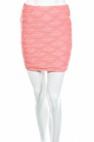 Φούστα Amisu, Μέγεθος S, Χρώμα Ρόζ , 84% πολυεστέρας, 16% ελαστάνη, Τιμή 4,25€