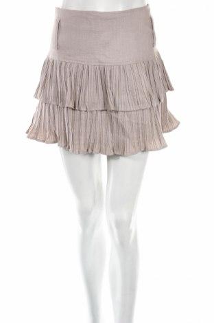 Φούστα Lulumary, Μέγεθος L, Χρώμα Γκρί, 70% βισκόζη, 30% πολυαμίδη, Τιμή 3,64€