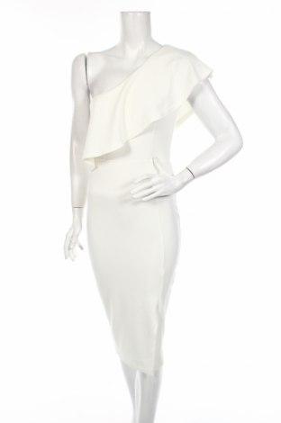 Φόρεμα Missguided, Μέγεθος M, Χρώμα Εκρού, 95% πολυεστέρας, 5% ελαστάνη, Τιμή 8,35€