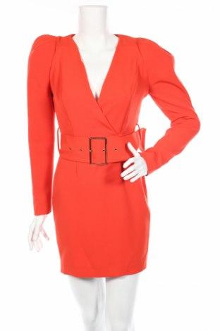 Šaty  River Island, Veľkosť S, Farba Oranžová, 93% polyester, 7% elastan, Cena  20,68€