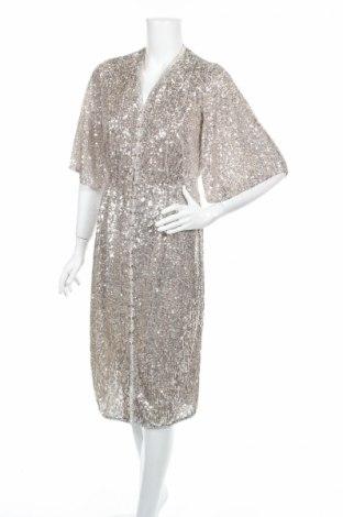 Φόρεμα River Island, Μέγεθος M, Χρώμα Ασημί, Πολυεστέρας, Τιμή 35,58€