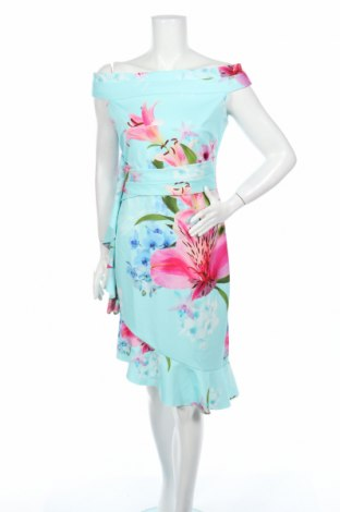 Šaty  Sistaglam, Veľkosť L, Farba Viacfarebná, 95% polyester, 5% elastan, Cena  18,76€