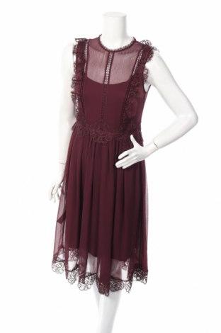 Φόρεμα Ted Baker, Μέγεθος M, Χρώμα Βιολετί, Πολυεστέρας, Τιμή 33,38€