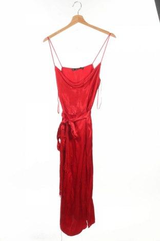 Rochie Zara, Mărime M, Culoare Roșu, Viscoză, Preț 81,58 Lei