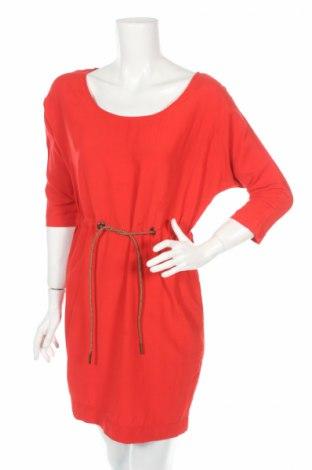 Рокля Zara, Размер XS, Цвят Червен, 100% вискоза, Цена 17,85лв.