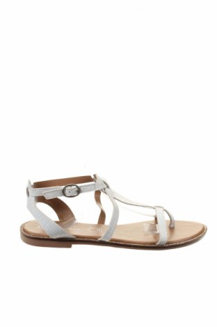 Сандали New Look, Размер 39, Цвят Бял, Естествена кожа, Цена 59,86лв.