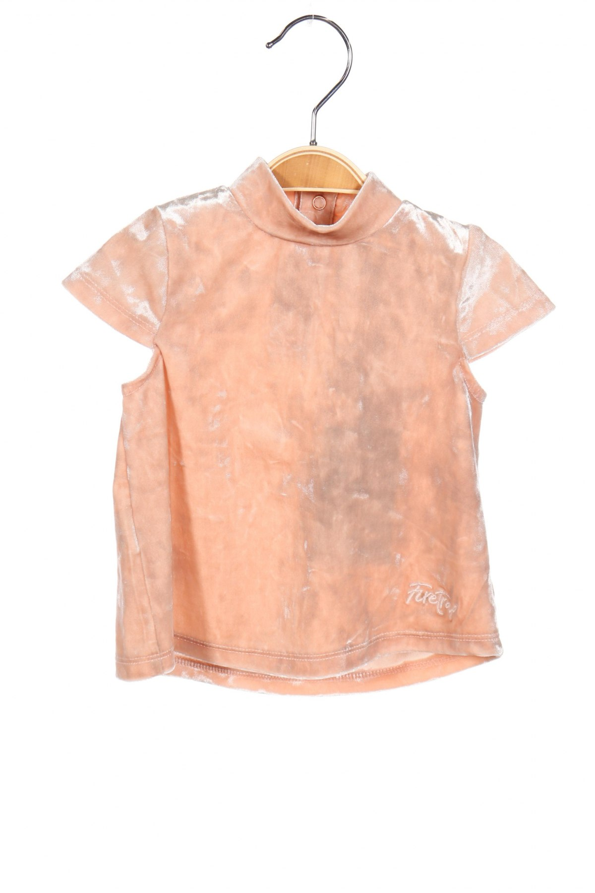 Детска блуза Firetrap, Размер 12-18m/ 80-86 см, Цвят Розов, 93% полиестер, 7% еластан, Цена 3,36лв.
