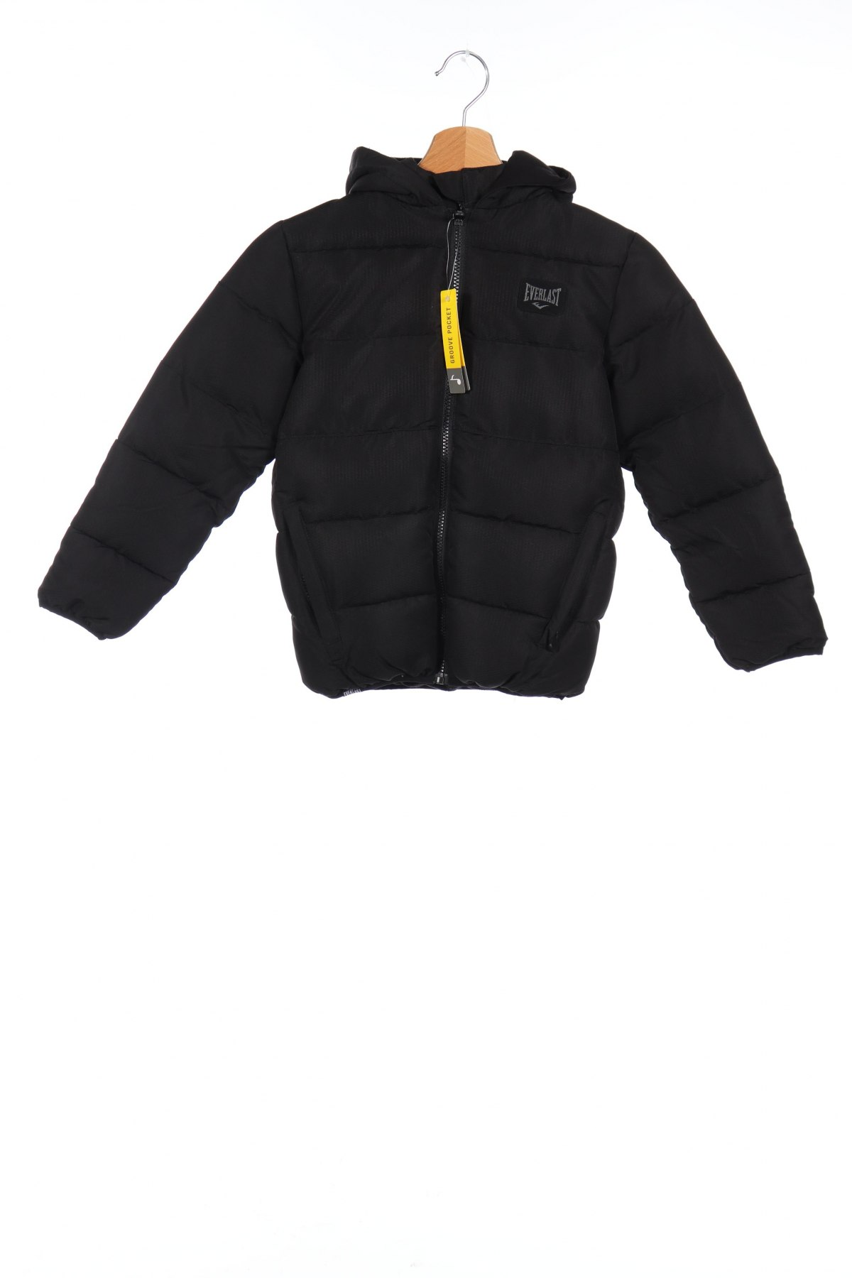 Детско яке Everlast, Размер 6-7y/ 122-128 см, Цвят Черен, Полиестер, Цена 60,72лв.