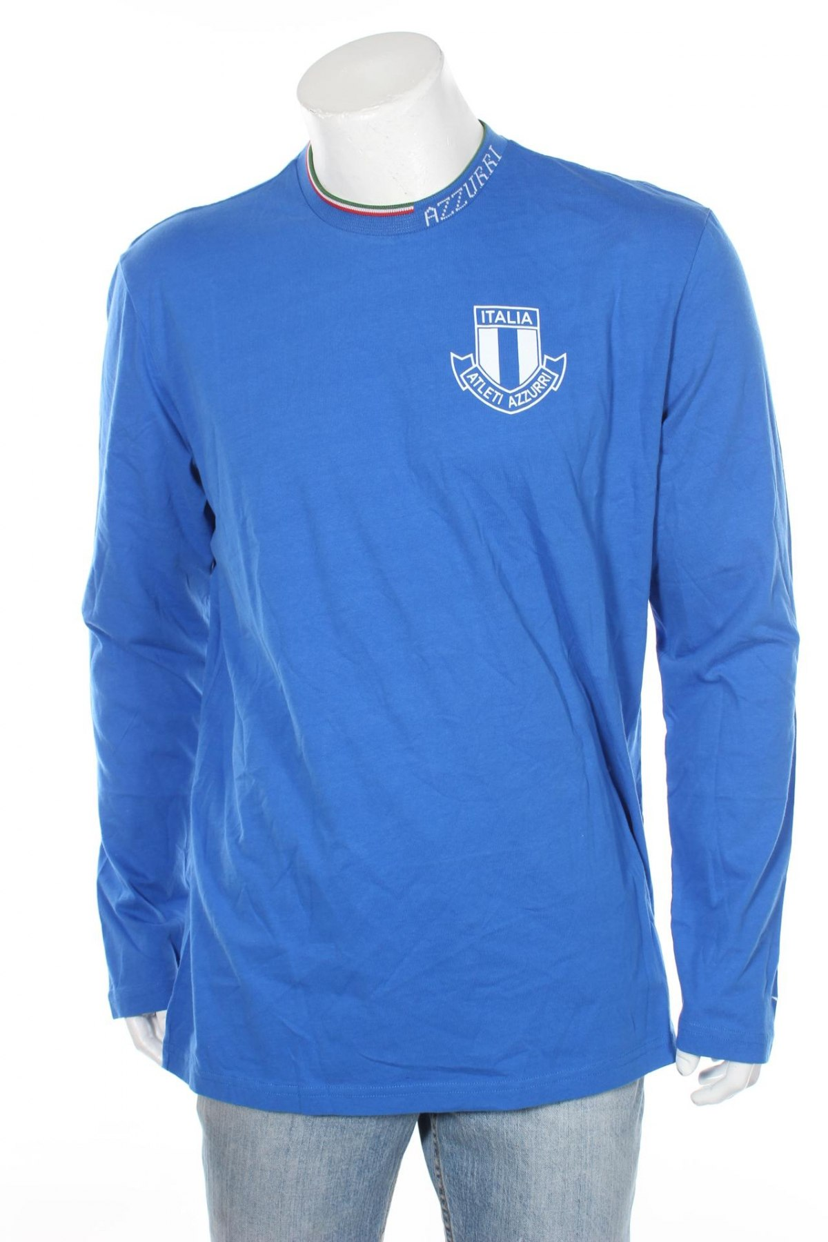 Мъжка блуза Diadora, Размер XXL, Цвят Син, Памук, Цена 17,15лв.