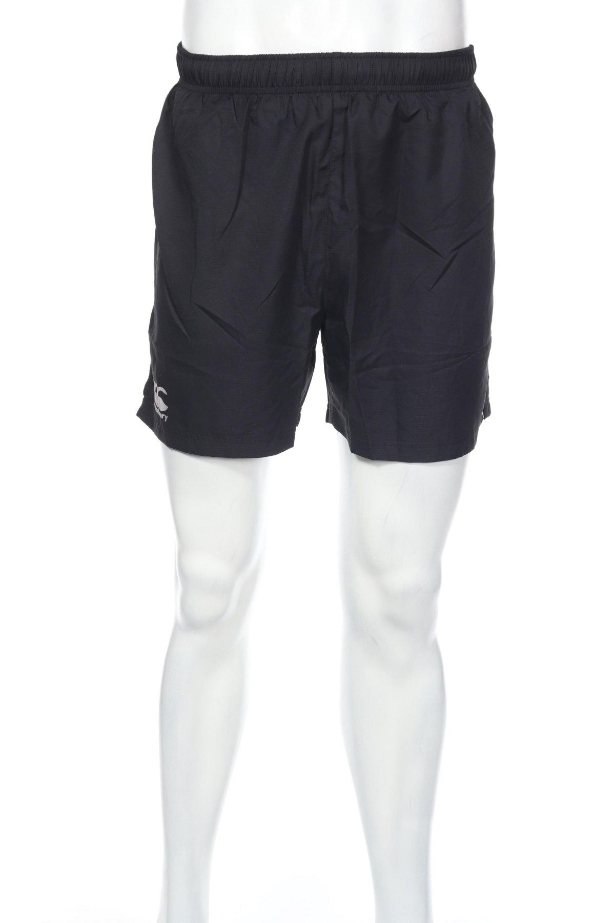 Мъжки къс панталон Canterbury, Размер S, Цвят Черен, Полиестер, Цена 12,60лв.