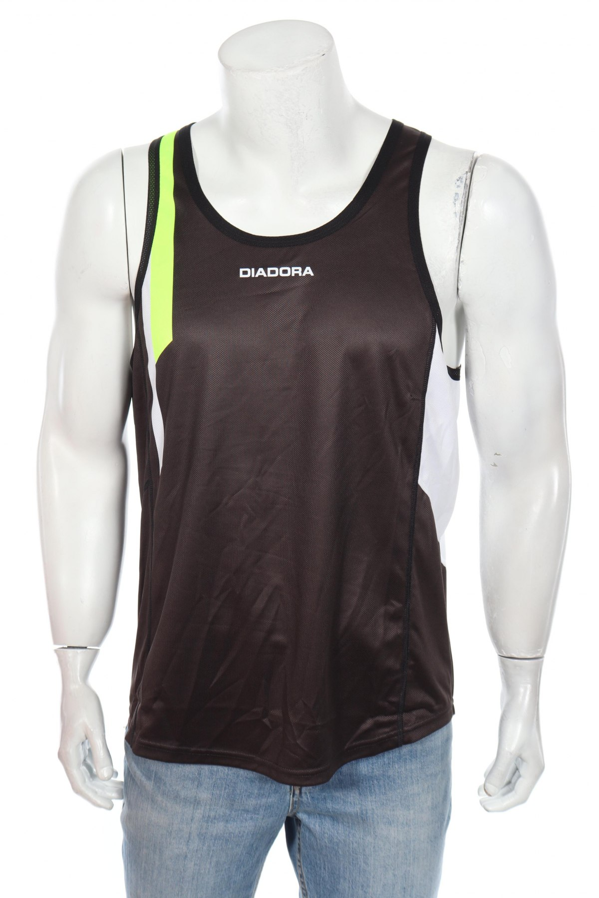 Мъжки потник Diadora, Размер XL, Цвят Бял, Полиестер, Цена 11,40лв.