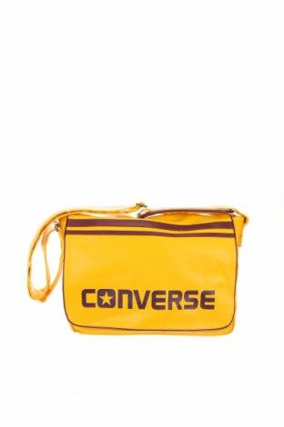 Чанта Converse, Цвят Жълт, Еко кожа, Цена 47,60лв.