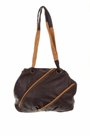 Дамска чанта Mimco, Цвят Кафяв, Естествена кожа, Цена 24,57лв.