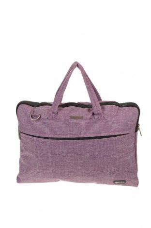 Чанта за лаптоп, Цвят Лилав, Текстил, Цена 22,05лв.