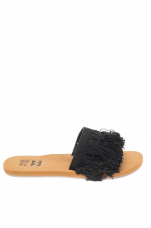 Γυναικείες παντόφλες Billabong, Μέγεθος 36, Χρώμα Μαύρο, Κλωστοϋφαντουργικά προϊόντα, Τιμή 22,81€