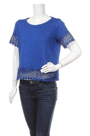 Γυναικεία μπλούζα A.N.A., Μέγεθος L, Χρώμα Μπλέ, 60% βαμβάκι, 40% βισκόζη, Τιμή 5,20€